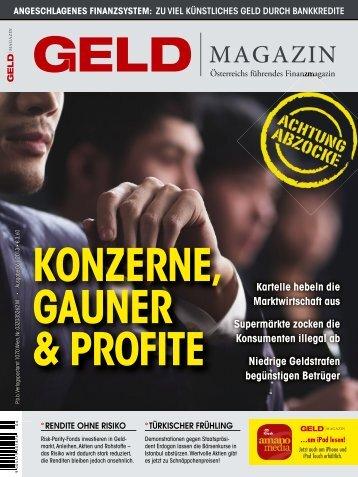 Panorama - GELD-Magazin