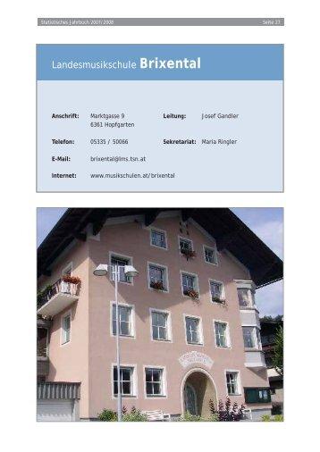 Landesmusikschule Brixental