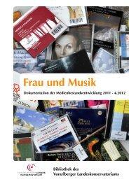 Frau und Musik - Vorarlberger Landeskonservatorium