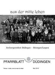 Mai 2010 - Pfarrei Düdingen