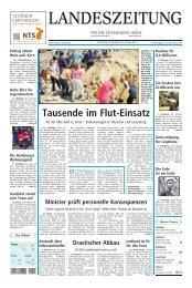 Tausende im Flut-Einsatz - Artlenburg