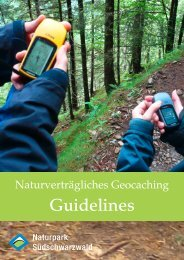 als PDF - Naturpark Südschwarzwald
