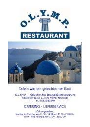 zur restaurant speisekarte - Olymp