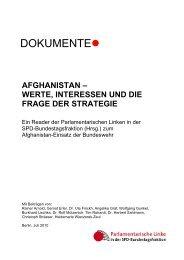 afghanistan - bei Gernot Erler