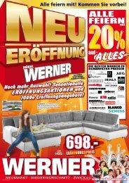 ALLE FEIERN - Möbel Werner