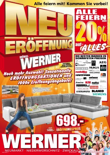 6 Free Magazines From Moebel Werner Com