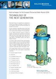 Heat Exchangers For The European Pressurized ... - Balcke-Dürr