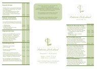 Preisliste2012 2.cdr - Privatpraxis Patrizia Liebeskind