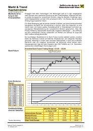 Markt & Trend - Raiffeisen
