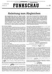 Funkschau 14.Jahrgang Nr.03 März 1941 - Nonstop Systems