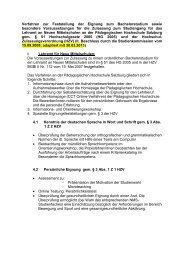 Lehramt für Neue Mittelschulen - Pädagogische Hochschule Salzburg