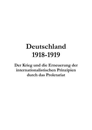 Deutsche Revolution.pdf - Internationale Kommunistische Strömung