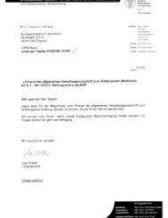 Stellungnahme für das Bundesministerium des Inneren, 2.3 ... - BDP