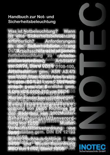 und Sicherheitsbeleuchtung - INOTEC Sicherheitstechnik GmbH
