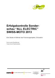 Erfolgskontrolle Swiss-Moto ALL ELECTRIC 2013 - NewRide