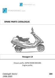 Piaggio Hexagon LX - Strassi´s Roller Shop