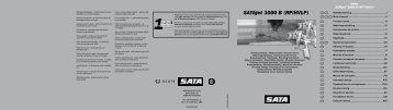 SATAjet 1000 B (RP/HVLP) - Wagner