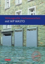 mit WP WASTO - Klöckner Stahl