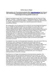 Entwurf einer Verordnung der Bundesministerin für Gesundhe–