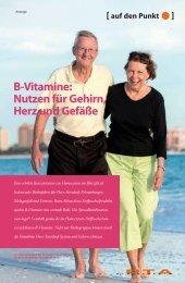 B-Vitamine: Nutzen für Gehirn, Herz und Gefäße - Springer GuP