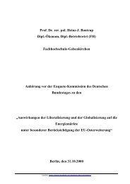 Prof. Dr. rer. pol. Heinz-J. Bontrup Dipl.-Ökonom, Dipl.-Betriebswirt ...