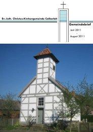 PDF-Datei - Christus-Kirchengemeinde Calberlah
