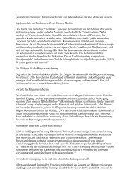 Kurzfassung des Interviews - Zentrum Gesellschaftliche ...