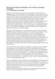 Peter Gäng: Auszüge aus der Einleitung zu
