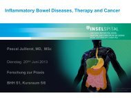 Inflammatory Bowel Diseases, Therapy and Cancer