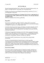 19. marts 2012 FM 2012/48 RETTELSESBLAD Erstatter ... - Inatsisartut