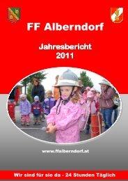 Jahresbericht 2011 - FF - Alberndorf