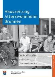 Hauszeitung Ausgebe Nr. 74 vom September 2012 - Brunnen