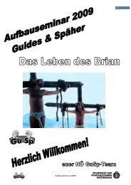 Aufbauseminar 2009 - Pfadfinder und Pfadfinderinnen Österreichs