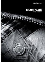 Surplus 2013 - Pantera shop