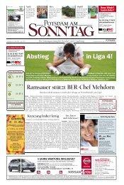 Abstieg in Liga 4! - Potsdamer Neueste Nachrichten
