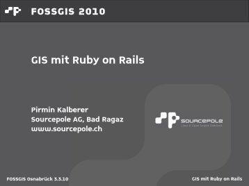 GIS mit Ruby on Rails - Sourcepole
