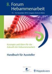 Ausstellerhandbuch - Georg Thieme Verlag
