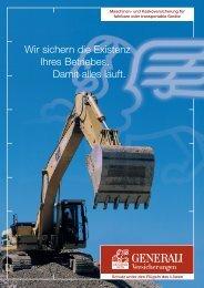 Maschinen- und Kaskoversicherung