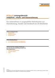 BOXprofi 1 - Versicherungen-Vorsorge-Vermögen