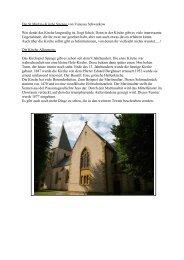 Die St.Martins-Kirche Spenge von Vanessa Schwarkow Wer denkt ...