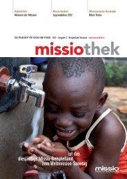 Tansania ist das diesjährige Missio-Beispielland zum Weltmission ...