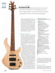 Gitarre& Bass - Phantom Guitars