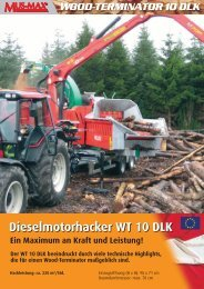 Dieselmotorhacker WT 10 DLK - Lectura SPECS