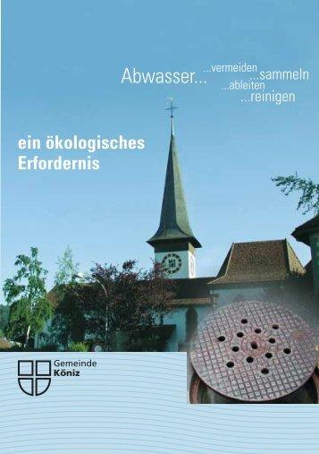 Abwasser... - Gemeinde Köniz