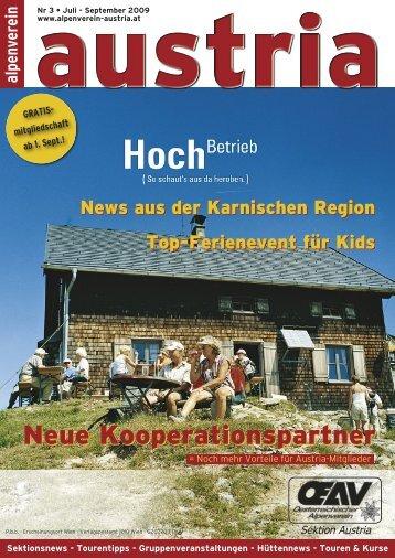 Austria_Nachrichten 3/2009 - Alpenverein Austria