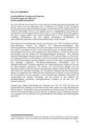 101 KLAUS SCHRÖDER Gesellschaftliche Ursachen und Folgen ...