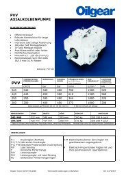 PVV Infoblatt Daten 540 440 250 200 - Oilgear Towler GmbH