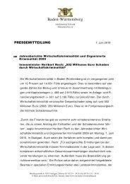 Jahresberichte Wirtschaftskriminalität und Organisierte Kriminalität ...