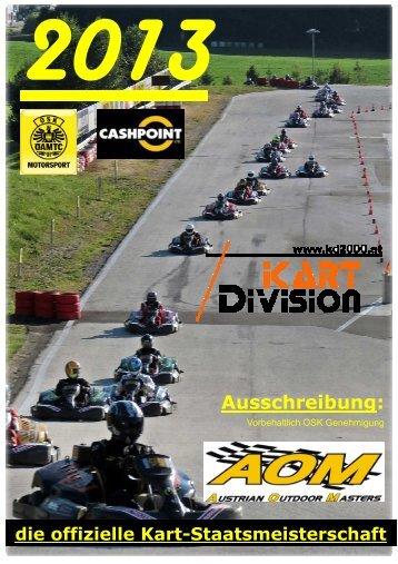 Ausschreibung: - Kart Division
