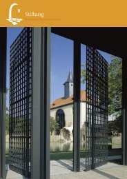 Stiftung - Kloster Volkenroda